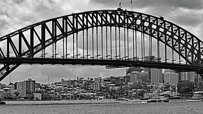 Photograph - Sydney Harbour Bridge No. 15-1 by Sandy Taylor