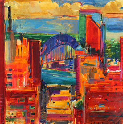 Sydney Harbour Bridge Painting - Sydney Harbour Bridge by Peter Graham