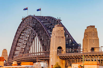 Photograph - Sydney Harbour Bridge by Ray Shiu