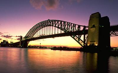 Travel Pics Royalty Free Images - Sydney Harbour Bridge Royalty-Free Image by Travel Pics