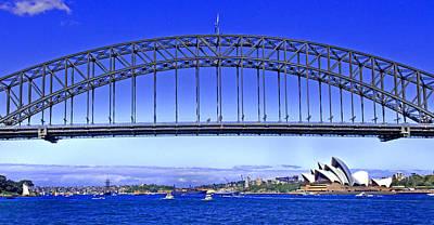 Photograph - Sydney Harbour During Navy Fleet Review 2013 by Miroslava Jurcik