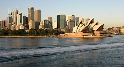 Sydney Skyline Photograph - Sydney Harbour by Jessica Estrada