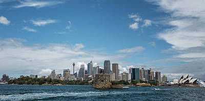 Photograph - Sydney Harbour by Jocelyn Kahawai