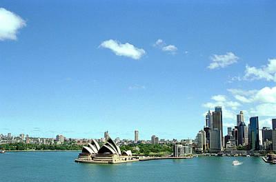 Sydney Photograph - Sydney Harbour by John Bray