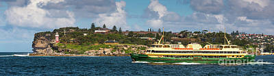 Photograph - Sydney Harbour Panorama by Andrew Michael
