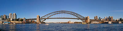 Photograph - Sydney Harbour Panorama by Nicholas Blackwell