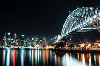 Photograph - Sydney Harbour Sparkle by Smoked Cactus