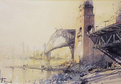 Sydney Haze Art Print