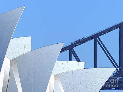 Photograph - Sydney Icons by Phil Banks