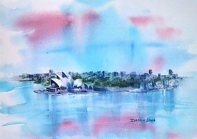 Painting - Sydney Impressions by Debbie Lewis