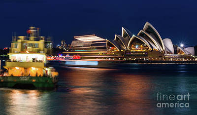 Photograph - Sydney Night Life by Andrew Michael