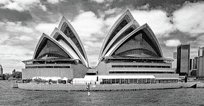 Photograph - Sydney Opera House No. 1-1 by Sandy Taylor