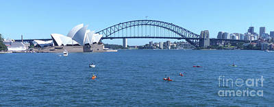 Photograph - Sydney Opera House And Harbour Bridge by Phil Banks