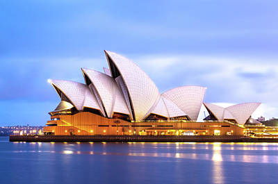 Sydney Opera House At Dawn Art Print