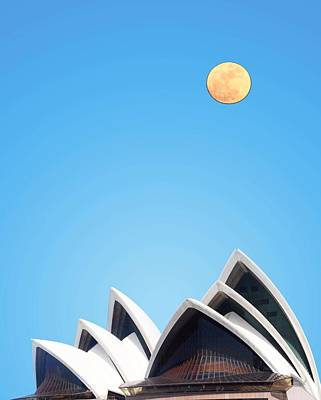 Painting - Sydney Opera House by Adam Asar