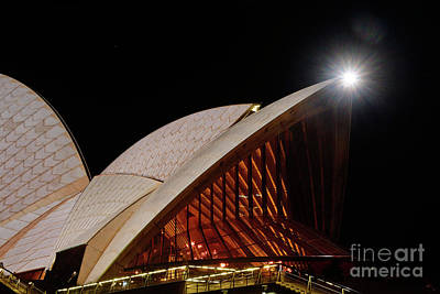 Photograph - Sydney Opera House Close View By Kaye Menner by Kaye Menner