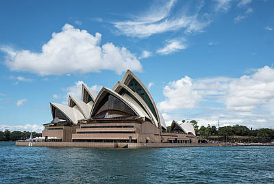 Photograph - Sydney Opera House by Jocelyn Kahawai