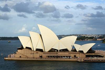 Photograph - Sydney Opera House by KJ Swan