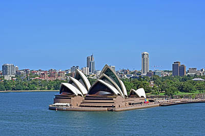 Photograph - Sydney Opera House No. 17-1 by Sandy Taylor