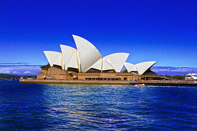 Photograph - Sydney Opera House On Summer Day by Miroslava Jurcik
