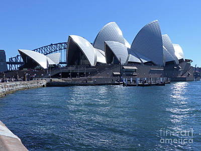 Photograph - Sydney Opera House by Phil Banks