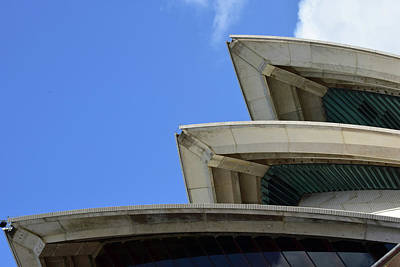 Photograph - Sydney Opera House Roof Detail No. 14-1 by Sandy Taylor