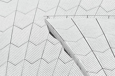 Photograph - Sydney Opera House Roof No. 10-1 by Sandy Taylor