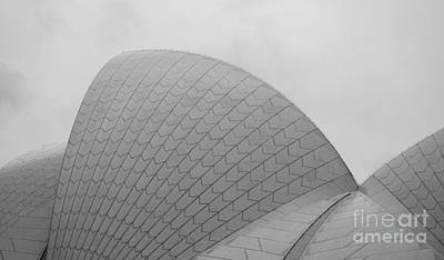 Photograph - Sydney Opera House Sails by Angela DeFrias
