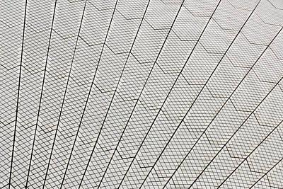 Photograph - Sydney Opera House Tiles by John Daly