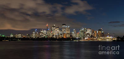 Sydney Panorama Art Print by Andrew Michael