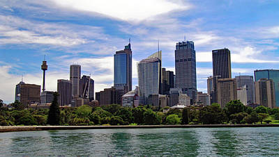 Sydney Skyline Photograph - Sydney Skyline No. 1 by Sandy Taylor