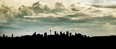 Photograph - Sydney Skyline by Chris Cousins