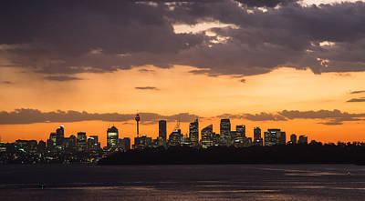 Sydney Skyline Photograph - Sydney Skyline by David Haworth