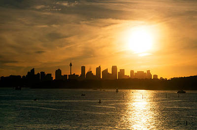 Photograph - Sydney Skyline by Nicholas Blackwell