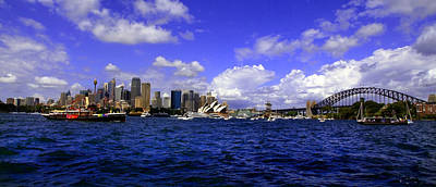 Photograph - Sydney Skyline On Australian Day by Miroslava Jurcik