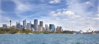 Sydney Skyline Photograph - Sydney Skyline by Sandra Ramacher