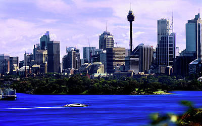 Photograph - Sydney Tower And Botanical Gardens by Miroslava Jurcik