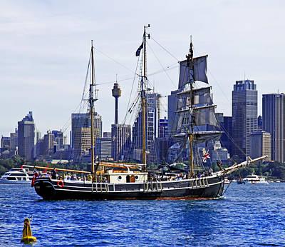 Photograph - Sydney Tower And Southern Swan by Miroslava Jurcik