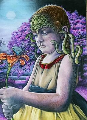 Sydnie/medusa Original by Eddie Hollomon
