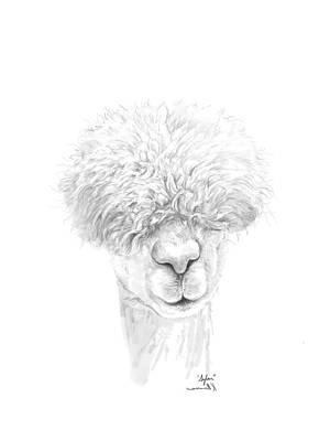 Animals Drawings - Sylar by K Llamas