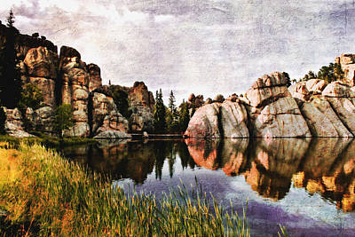 Sylvan Lake - Black Hills Art Print by Ellen Heaverlo