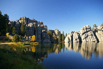 Photograph - Sylvan Lake, Custer South Dakota by Karen Cade
