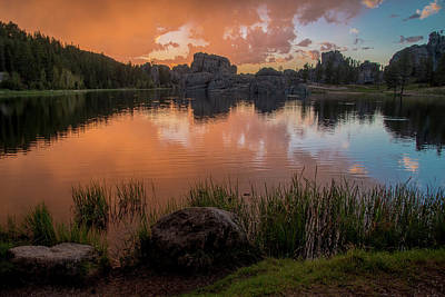 Photograph - Sylvan Lake by Gary Lengyel