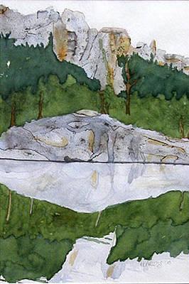Sylvan Lake Art Print by Heather Ahrens