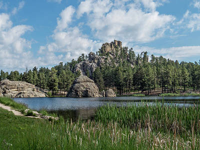 Photograph - Sylvan Lake Peak by Patti Deters