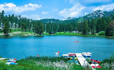 Laramie Photograph - Sylvan Lake, South Dakota by Art Spectrum