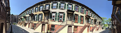 Photograph - Sylvan Terrace Panoramic by Steven Spak