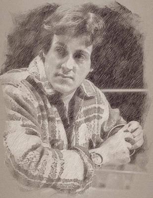 Sylvester Stallone Art Print by Esoterica Art Agency