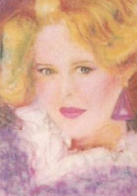 Drawing - Sylvia by Denise F Fulmer