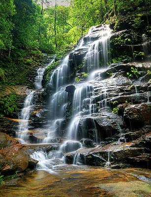 Sylvia Falls - Australia Original by Tim Sanusi